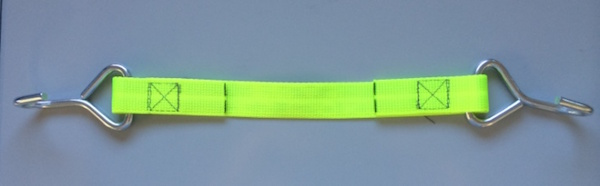 Elite Green Hanging Strap with Metal Hooks